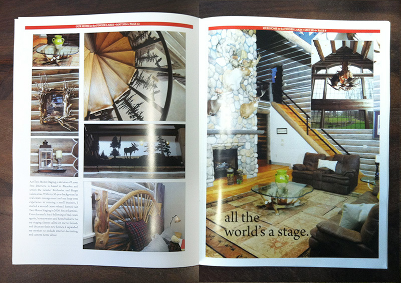 in the press our home magazine act two home staging. Black Bedroom Furniture Sets. Home Design Ideas