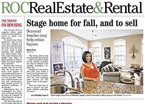 Stage home for fall