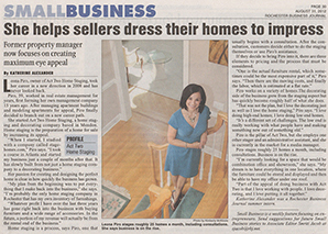 Helps sellers dress their homes to impress