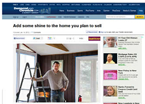 Add some shine to the home you plan to sell