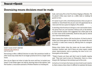 Downsizing means decision must be made