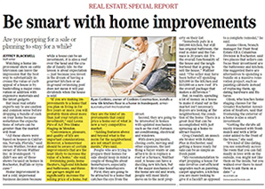 Be smart with home improvements