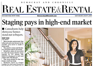 Staging pays in high-end market