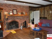 Farmhouse Family Room Before