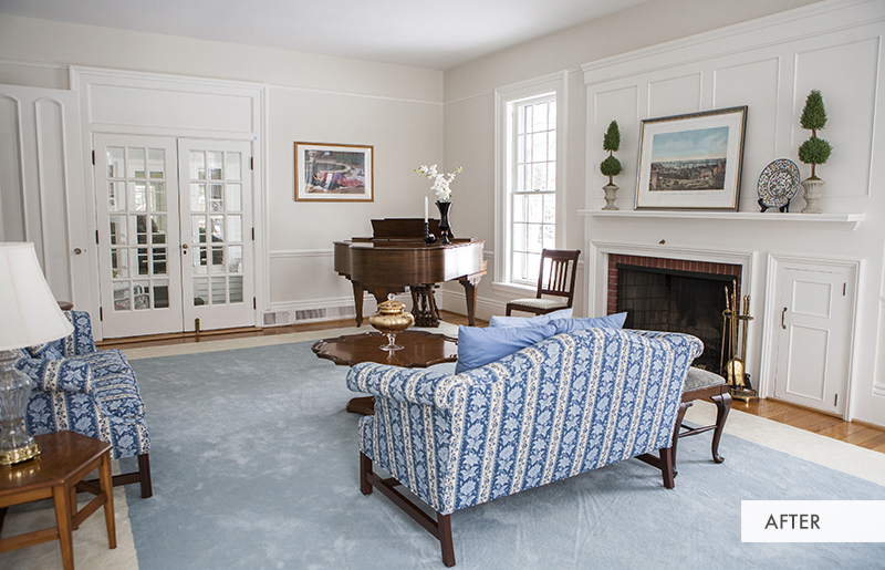 Farmhouse Living Room After