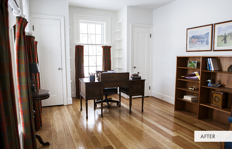 Farmhouse Office After