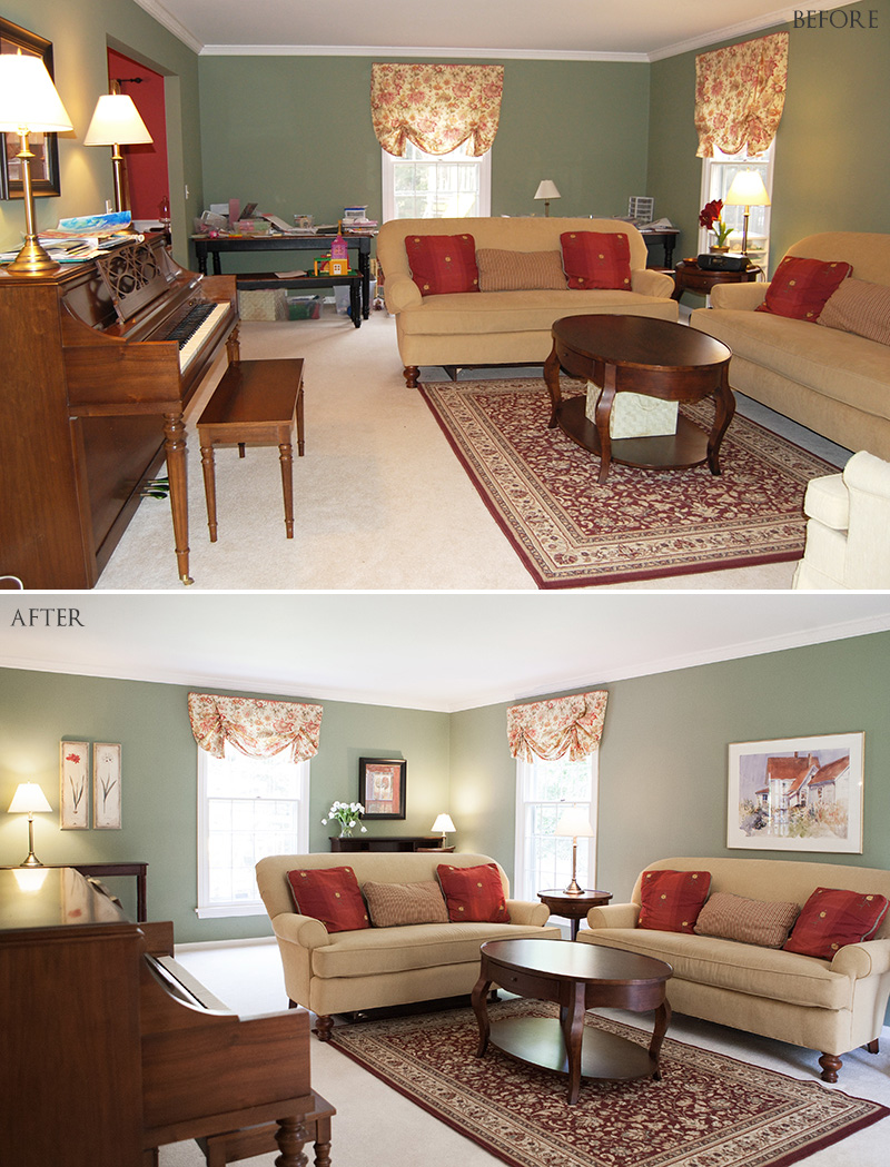 Staging A Family Home Working With What You Have Act