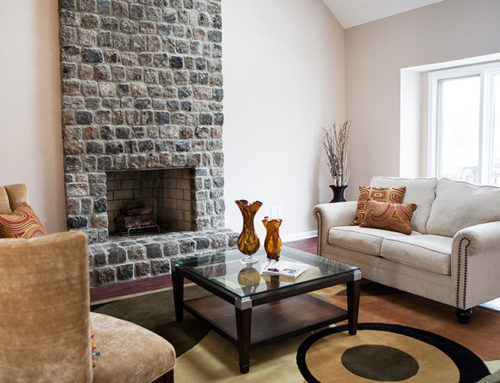 Fireplace Living Rental