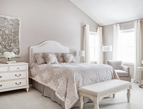 A Dated Master Bedroom Is Transformed Into A Stylish Retreat